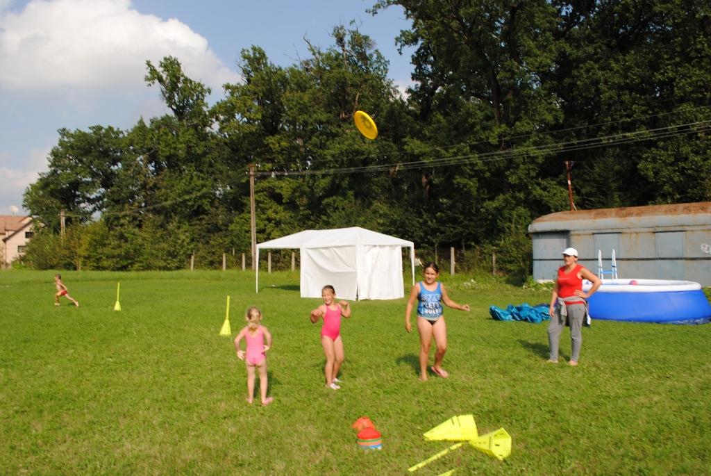 am jucat frisbee
