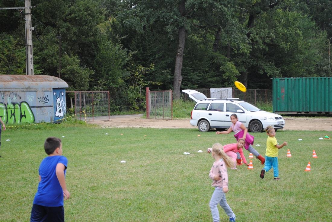Freezbee-baseball